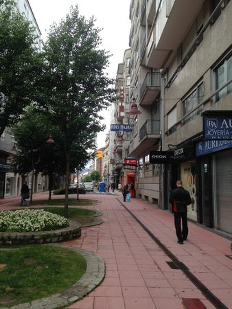 Hotel Rias Bajas: leading up to hotel