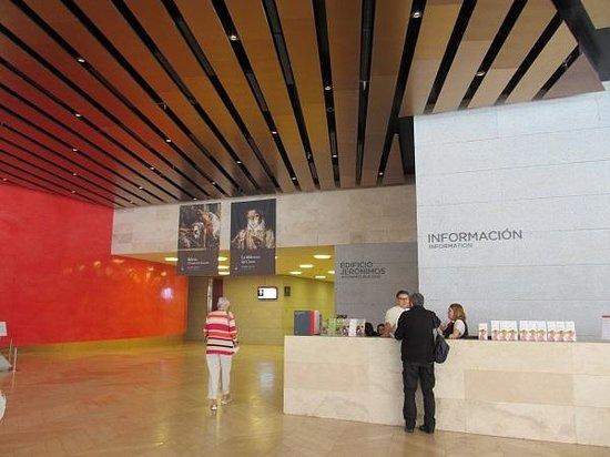 Prado National Museum: インフォメーション・デスク