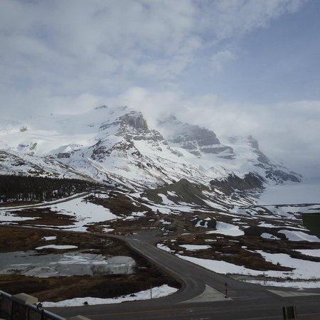 The Glacier View Inn: Glacier Views.