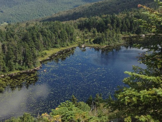 Mount Sunapee, NH: Lake Solitude (close to the summit)