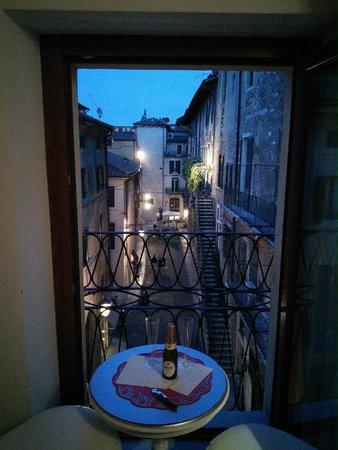 Anastasia Suite B&B: View from window