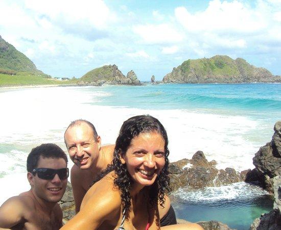 Praia do Cachorro : Contemplando um dos nossos cartões postais favoritos!