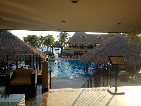 Flamingo Beach Resort And Spa: From the reception desk