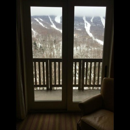 Stowe Mountain Lodge: view from the room