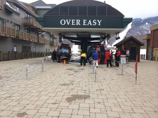Stowe Mountain Lodge: Over easy