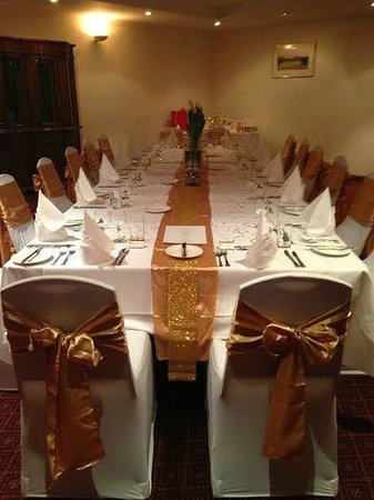Adelaide Inn: Funcion Room set for 50th anniversary