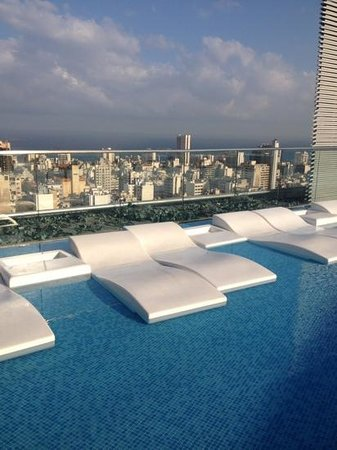 Staybridge Suites Beirut: rest and relax at the pool