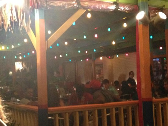 Chuy's Restaurant: The patio