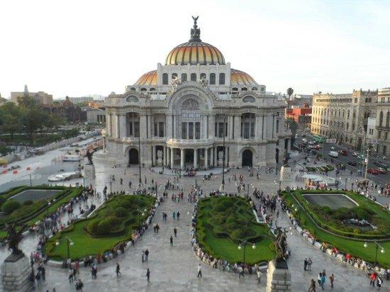 Palacio de Bellas Artes...