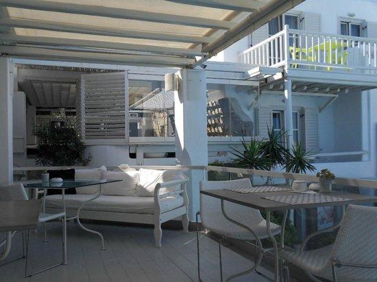 Semeli Hotel: Bar, restaurant, salle petit déj