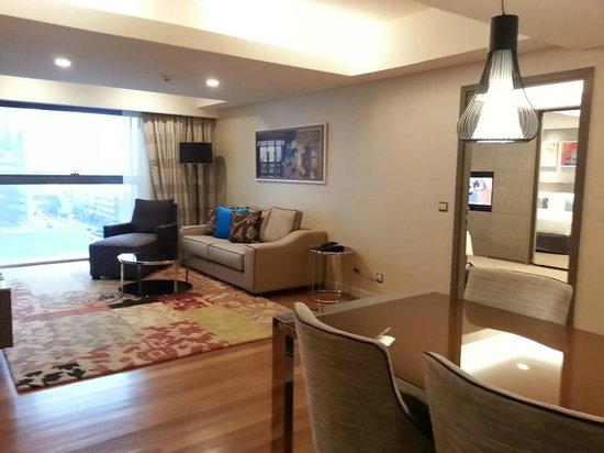 Ascott Sentral Kuala Lumpur Sitting Room Of The Apartment