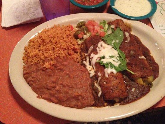 Chuy's Restaurant: Veggie Enchiladas