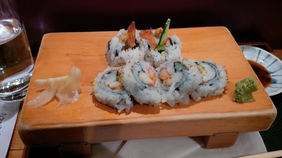 Oka Sushi: Jasper Rolls.