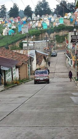 Mercado de Chichicastenango: a view of the cemetery in Chichicastenango
