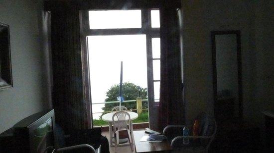 Central Nirvana Resort, Darjeeling: From inside the room