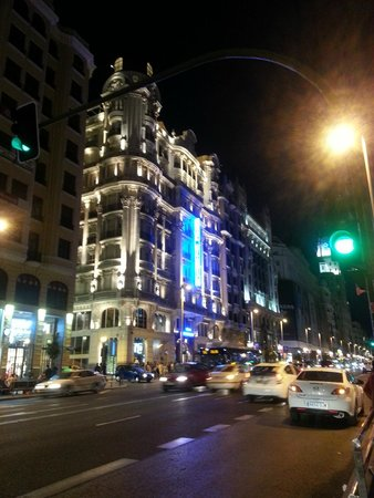 Hotel Atlantico: View from the streets