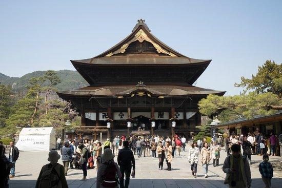 Zenko-ji Temple : Zenkoji Temple