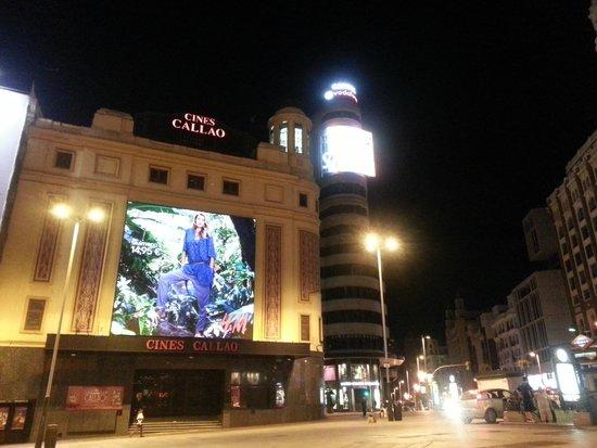 Hotel Atlantico: Opposite the hotel