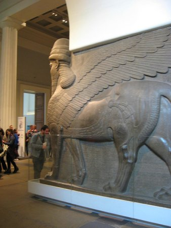 British Museum : Actual size artifact, astounding in size, surreal to see in person