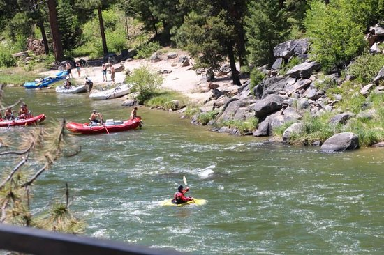 Ashley Inn: The Payette River Flyer is so named because it follows the whitewater and peaceful river.  See t