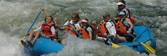 Ashley Inn: Beauty surrounds you while you are creating the memories of your life....Whitewater rafting on t