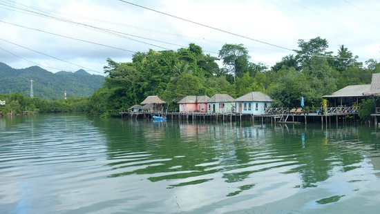 Baan Rim Nam: River view from Kayak
