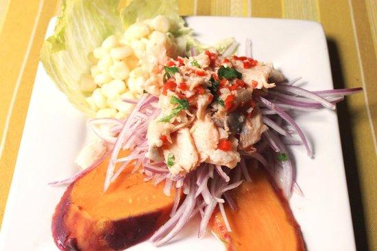 La Confianza Restaurante : Ceviche de trucha