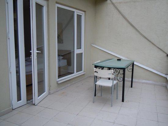 New Pera Hotel: Terrace