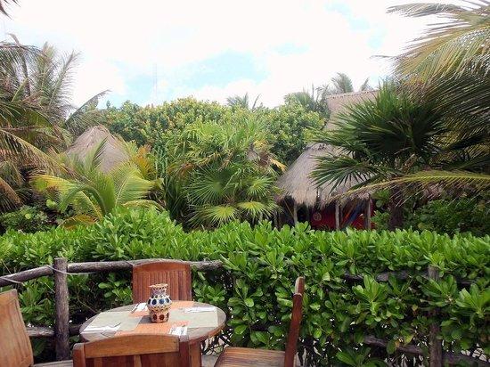 Cabanas La Luna : Restaurant