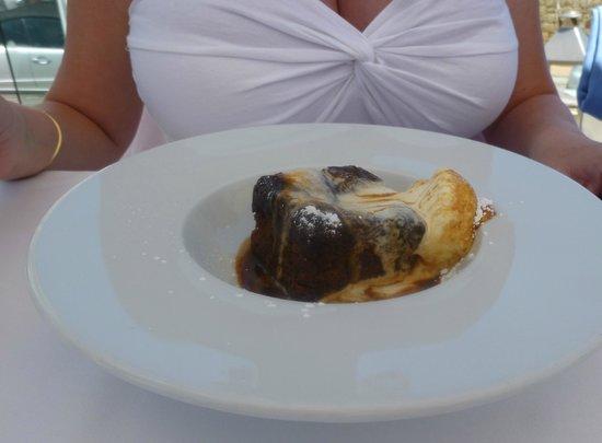 Kokomo: Sticky toffee pudding.