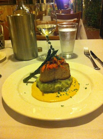 Verdi's An American Bistro : It's as delicious as it is beautifully presented.