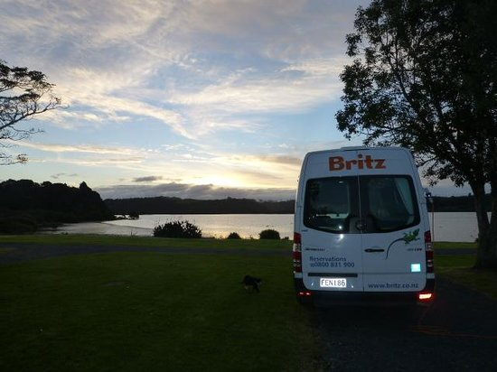 Waitangi Holiday Park: Another beautiful day over.....