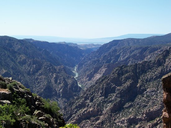 Black Canyon: Sunset View (But Not at Sunset)