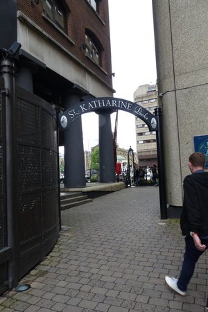 St. Katharine Docks entrance