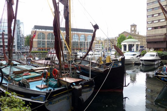 St. Katharine Docks - watercrafts