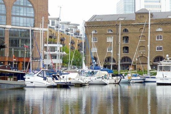 St. Katharine Docks - yachts