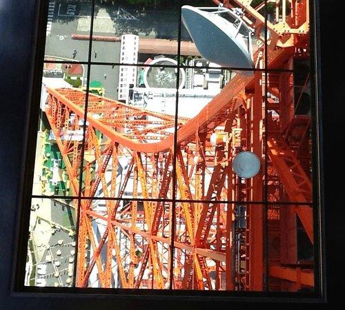 Tokyo Tower : Pavimento de vidro