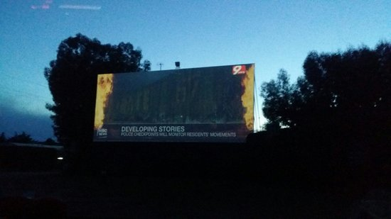 Drive in Pozzuoli (cinema in auto)