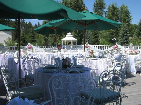 "Ashley Inn: Everyone loves a destination wedding because they all get to ""go on vacation""."