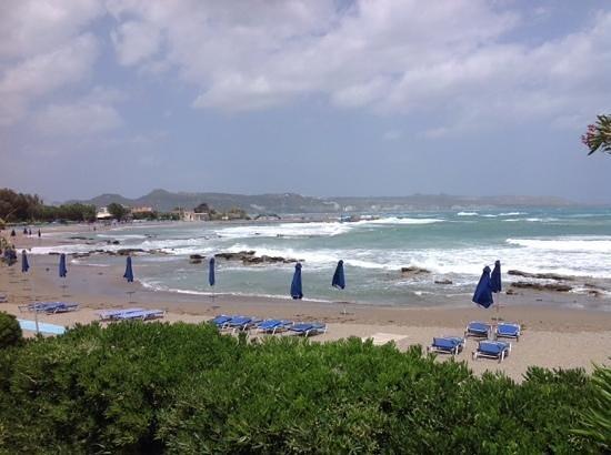 Elpida Beach Studios : Last stormy day before Summer from Elpida terrace