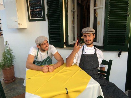 Claudio's Italian Restaurant : The da Claudio sous chefs