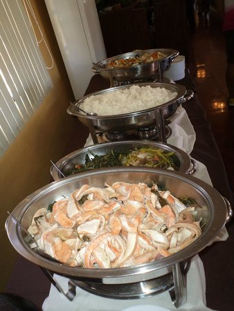 Marco Vincent Dive Resort : buffet