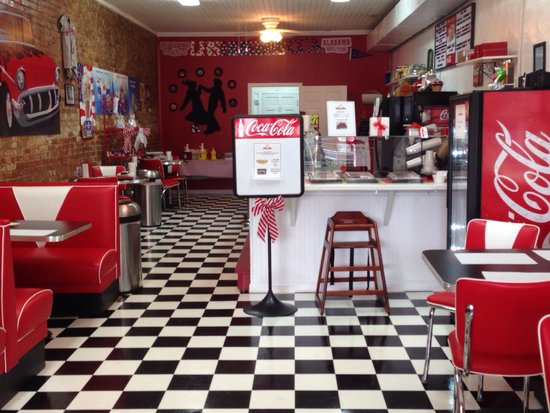 Mainstreet Sweets: When you walk in! COOLEST!!!
