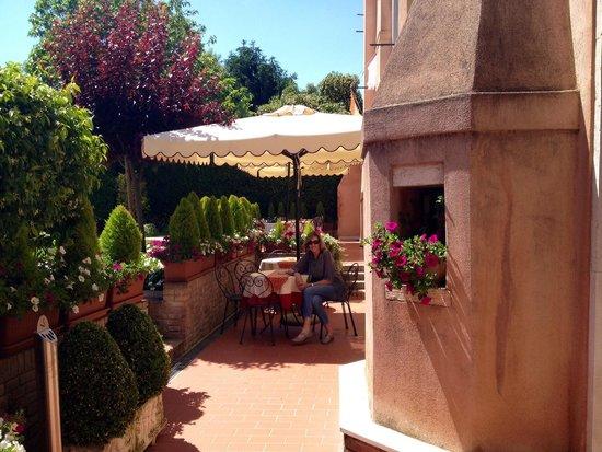 BEST WESTERN Hotel Olimpia: Breakfast area