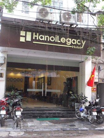 Hanoi Legacy Hotel Hoan Kiem: HOTEL FACADE