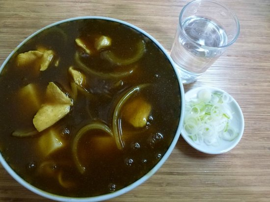 Okinasoba: カレー南蛮そば