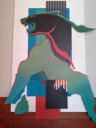 Aranwa Sacred Valley Hotel & Wellness : Arte en el comedor