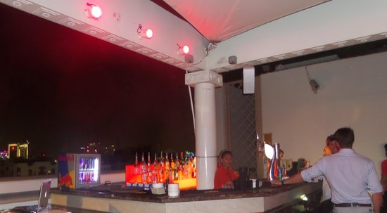 Le bar du Level Lounge