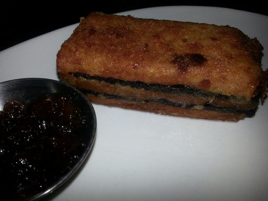 Stables View: Pork and back pudding layer cake