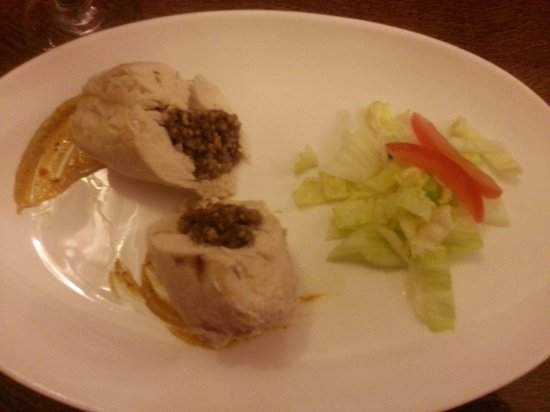 Stables View: Chicken stuffed with Haggis